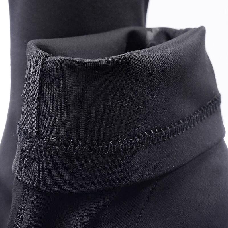 Bloque Toe Tobillo Otoño Botas Transparentes Tacones Mujer Altos Peep Bootie Mujeres Calcetín Primavera Aiykazysdl 2018 Black Tacón Claro De q4wApp