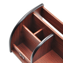 Wooden Multifunctional Desk Organizer