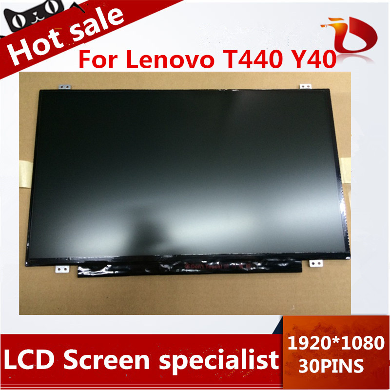 ФОТО High quality 14'' IPS LCD display EDP Connector 30PIN 1920*1080 FOR LENOVO T440 Y40 T440S