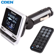 CDEN Multi Function Car Bluetooth FM Transmitter MP3 Player USB FM Modulator Bluetooth Carkit With USB Port and Remote Control