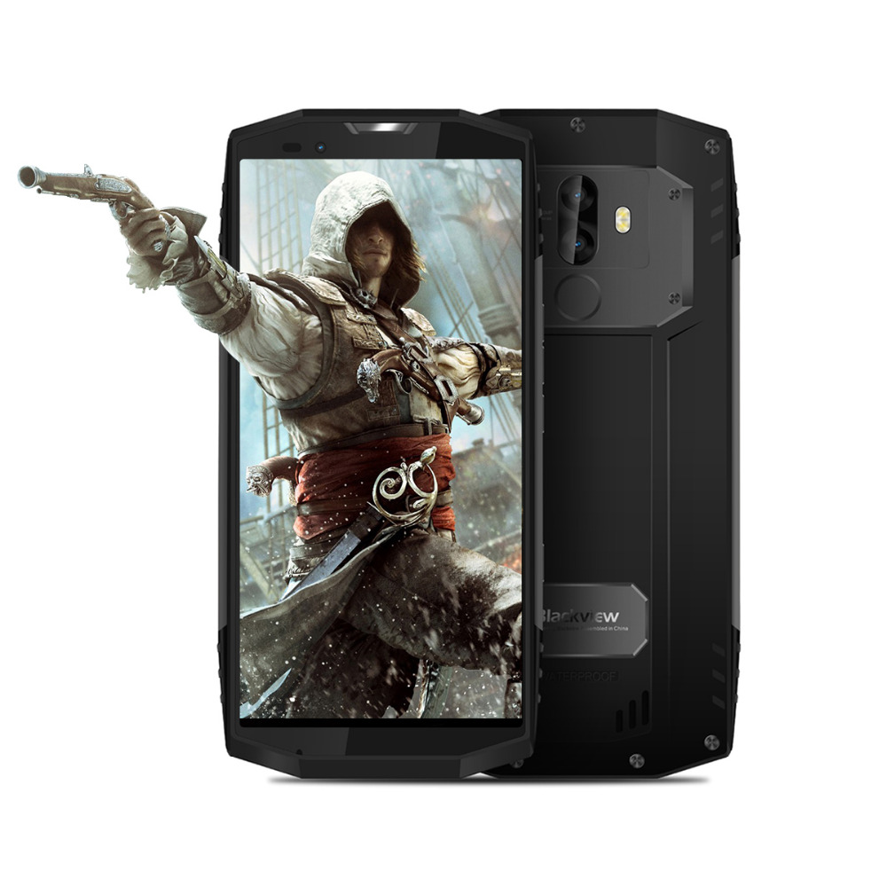 "Blackview BV9000 Helio P25 Octa Core Smartphone 5.7"" IP68 Waterproof 2.6GHz 4G RAM 64G ROM 4180mAh Android 7.1 NFC Mobile Phone"