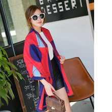 Fashion Tartan Foulard Women Casual Shawls Luxury Brand Echarpe Hiver Femme Cashmere Scarf YJWD455