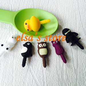 Image 1 - 30pcs kawaii gadget mixed anime earphone dust plug to phone 3.5mm jack plug for headphones for iphone sumsang free shipping