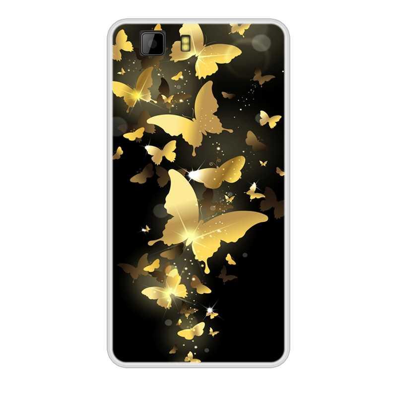 Di caso per Doogee X5 Molle Del Silicone di TPU Design Fresco della Vernice Del Modello di Caso Della Copertura Del Telefono per Doogee X5