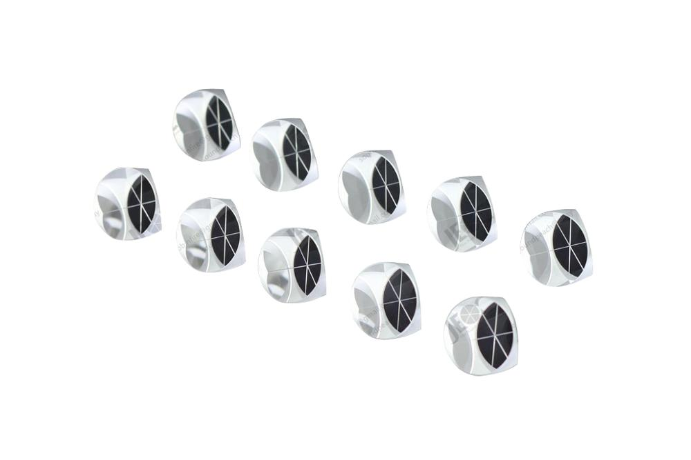 10PCS 1inch Corner Cube Prism, 25.4mm Trihedral Retroreflector, 5 arc secs, 10pcs 10pcs tip105 to220