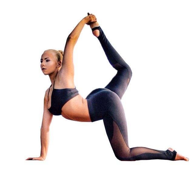 Women Casual Leggings Fitness Winter Leggings New Arrival Ladies Plain Elastic Waist Mesh Patchwork Legging Free Shipping