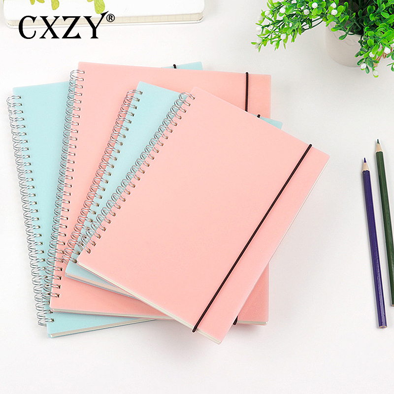 2019 MUJI Style A5 B5 Dotted Grid Blank Spiral Notebook Paper Note Sketchbook Travel Journal Diary Filofax Planner Bullet Agenda