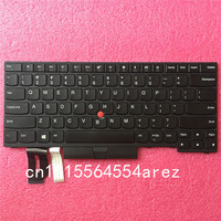 New Original laptop Lenovo ThinkPad THINKPAD T480S E480 L380 L480 no Backlit Keyboard with Trackpoint US English 01YP320 01YP240
