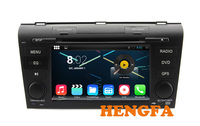 Pure Android 4 4 Car DVD Player 1024 600 For Mazda 3 2007 2009 With Radio