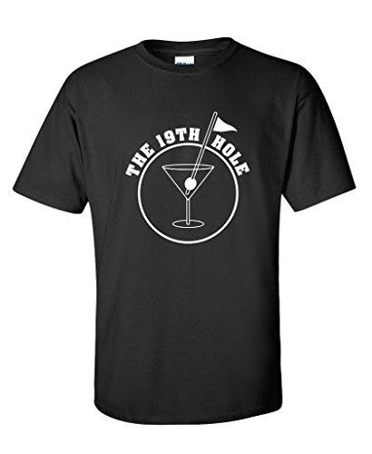 The 19th Hole - Golfer Golfing Sporter Mens Funny T Shirt
