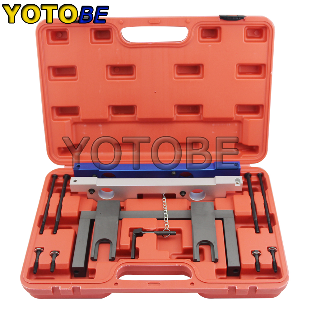 Engines Camshaft Timing Tool Set Engine Timing Tools for BMW For N51 / N52 / N53 / N54 newest engine timing tool chain removal installation camshaft locking cars auto engine repair set for bmw n51 n52 n53 n54 e81