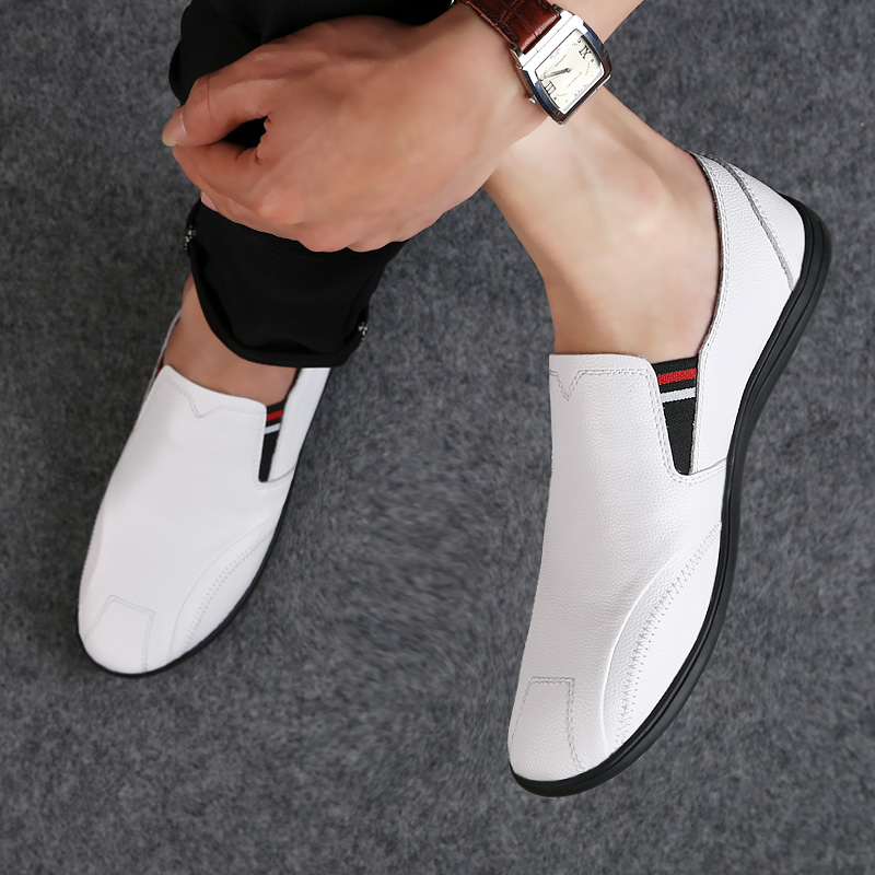 2018 new style men's casual shoes loafers breathable youth man shoes - Men's Shoes - Photo 3
