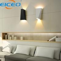 Industrial Modern Wall Lamp Led Indoor Bedroom Bedside Living Room Creative Lamp Simple Corridor Waterproof Iron Wall Lights