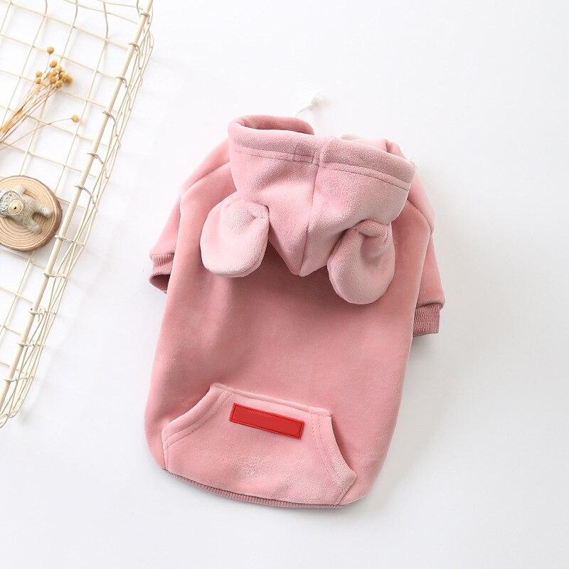 Flamingo-pink-Rabbit-Ears-Sweatshirt