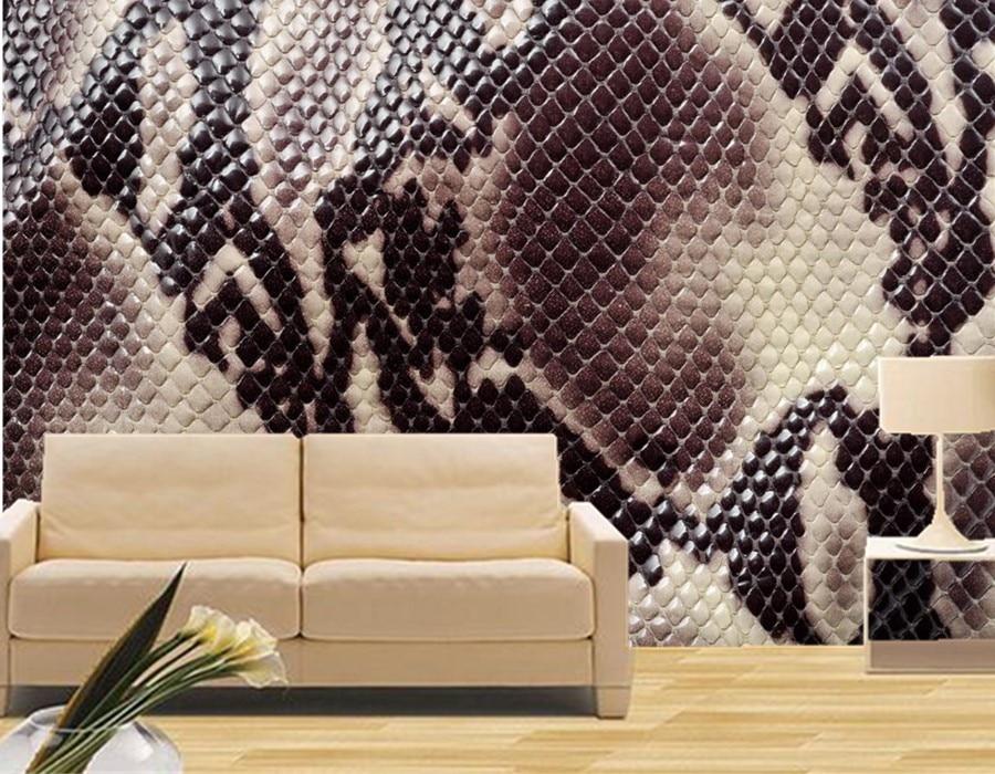 Aliexpress Com Buy Large Custom Mural Wallpapers Living: Popular Snake Wallpaper-Buy Cheap Snake Wallpaper Lots