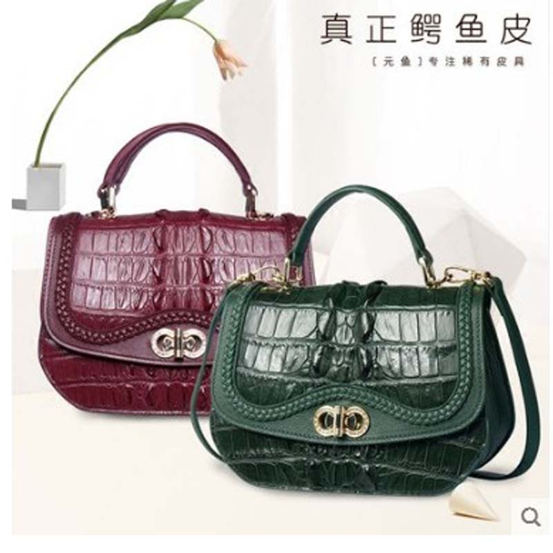 Yuanyu Dames Nouveau Des Véritable Sac Importés Main En A2 Cuir Crocodile De Pour a3 Femmes À a1 ppUxqwr