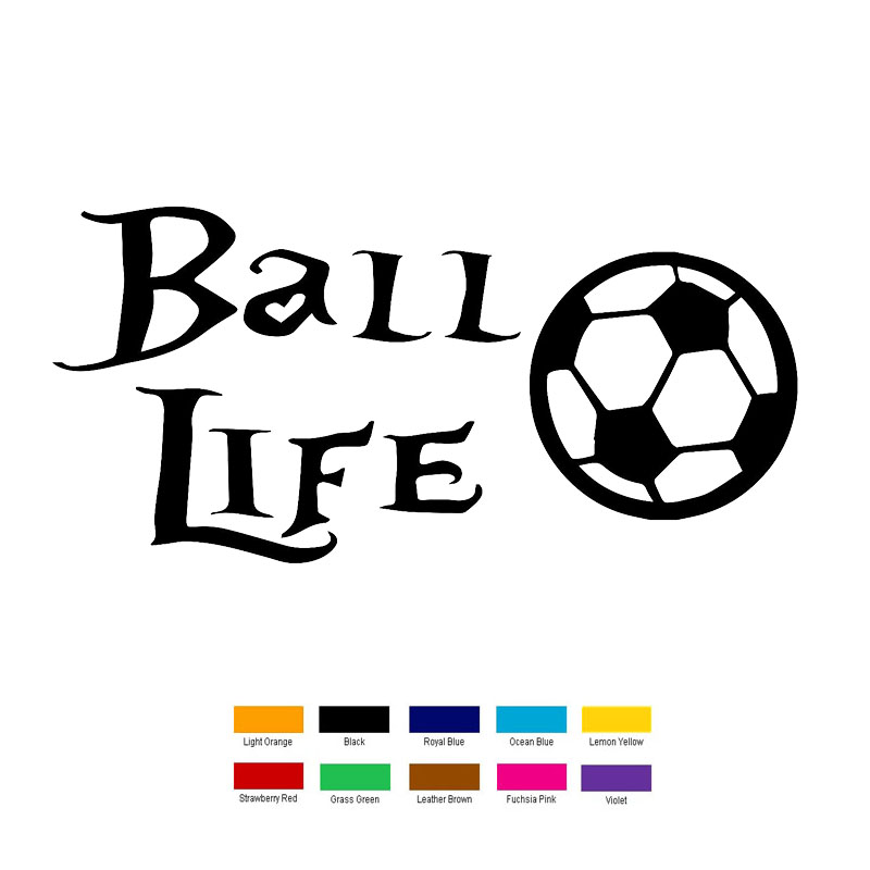 Online Get Cheap Soccer Car Decals Aliexpresscom Alibaba Group - Soccer custom vinyl decals for car windows