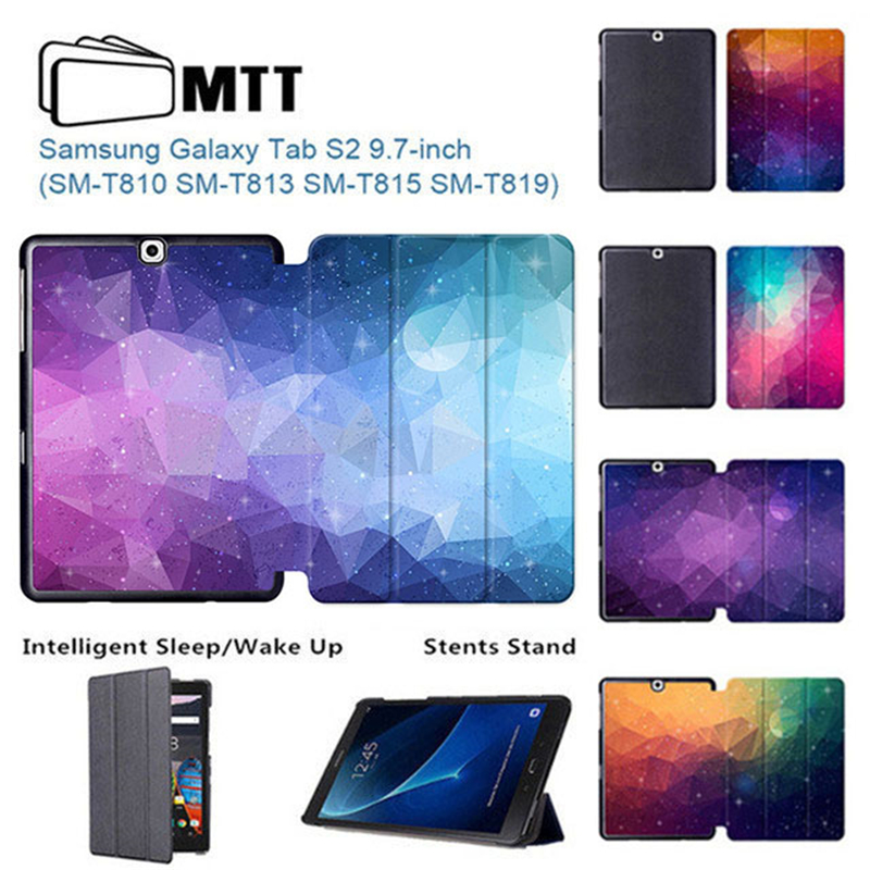 MTT Polygon PU Leather Cover for Samsung TAB S2 9.7 Case for Samsung Galaxy TAB S2 9.7 T810 T813 T815 T819 9.7 inch Tablet Case