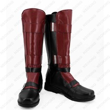 New Deadpool Cosplay Boots Wade Wilson  Anime Shoes Custom Made