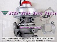 Free 2+5 RHF55 VIBA VA440012 8971038570 VB440012 VD440012 Turbo Turbocharger For ISUZU NQR Truck 4HE1 4HE1T 4HE1 T 5.2L 190HP