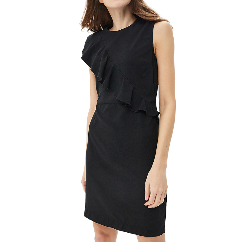 Dresses MODIS M181W00426 women dress cotton  clothes apparel casual for female TmallFS dresses dress befree for female half sleeve women clothes apparel casual spring 1811554599 50 tmallfs