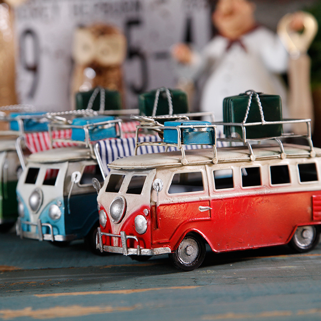 Amazing Us 25 26 Retro Car Figurines Metal Miniature Bus Model Home Decoration Ornament Toys Tabletop Cute Decor Colorful Classic Cars Craft In Figurines Download Free Architecture Designs Scobabritishbridgeorg
