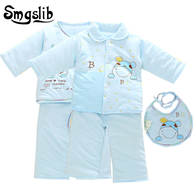 36037181e 5pcs Baby girl winter clothes Set Warm cow T shirt Pants Suit Autumn ...