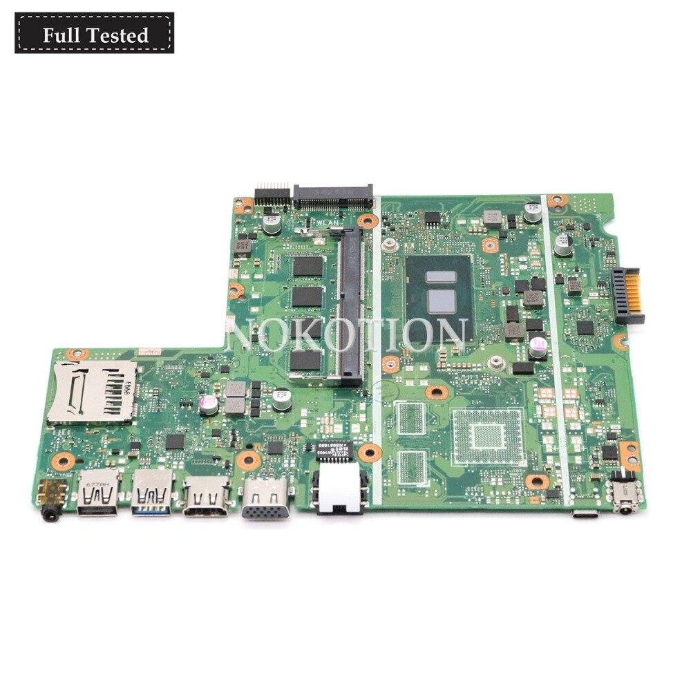 NOKOTION X541UV основная плата для хромбук ASUS X541UVK X541UA материнская плата для ноутбука с I5 7200U Процессор на борту DDR4 протестированы