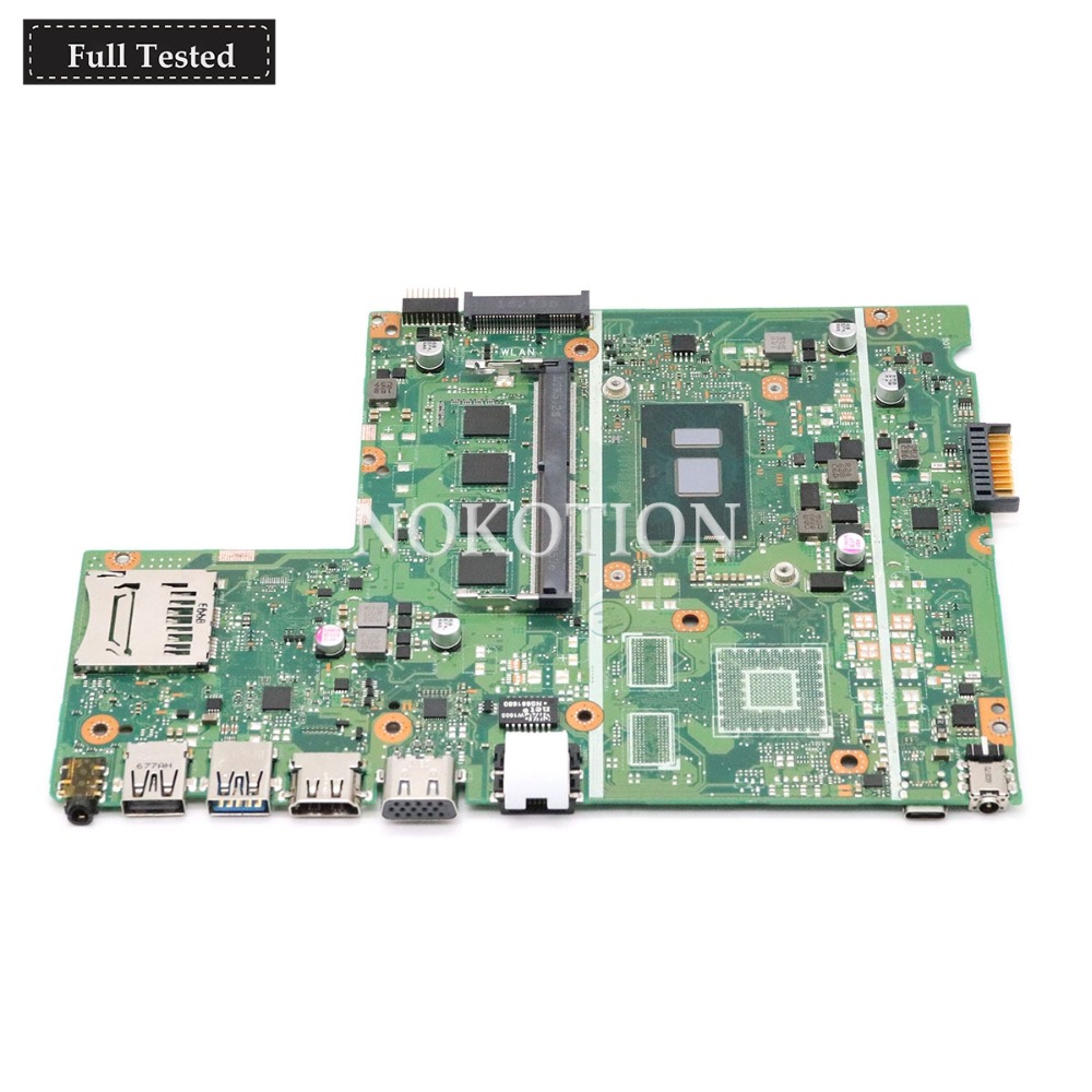 NOKOTION X541UV MAIN board For ASUS Chromebook X541UVK X541UA laptop motherboard with I5 7200U CPU onboard