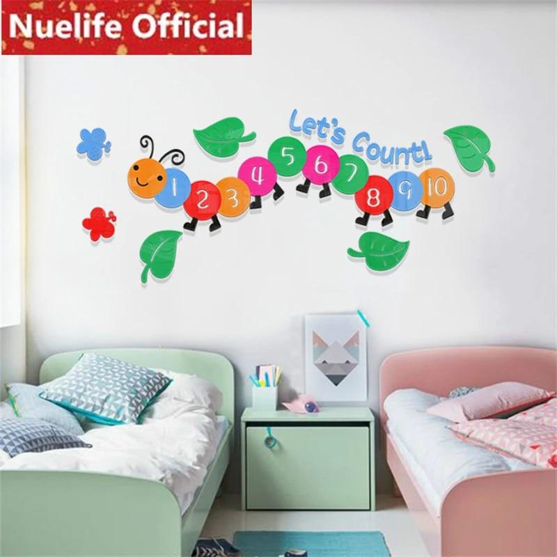 Details about  /Electric Pole Cat Wall Sticker Cartoon Children Room Sticker Decoration SO