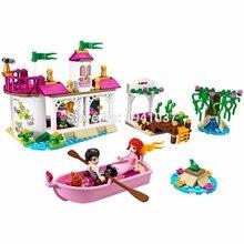 New SY322 Disn Princess Ariel's Magical Kiss Little Mermaid Building Blocks Minifigures Kids Educational set toys children gifts