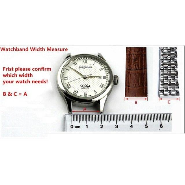 Watch accessories rubber silicone watch elbow 24MM waterproof and sweat-proof belt black white rubber belt men's watch belt 5