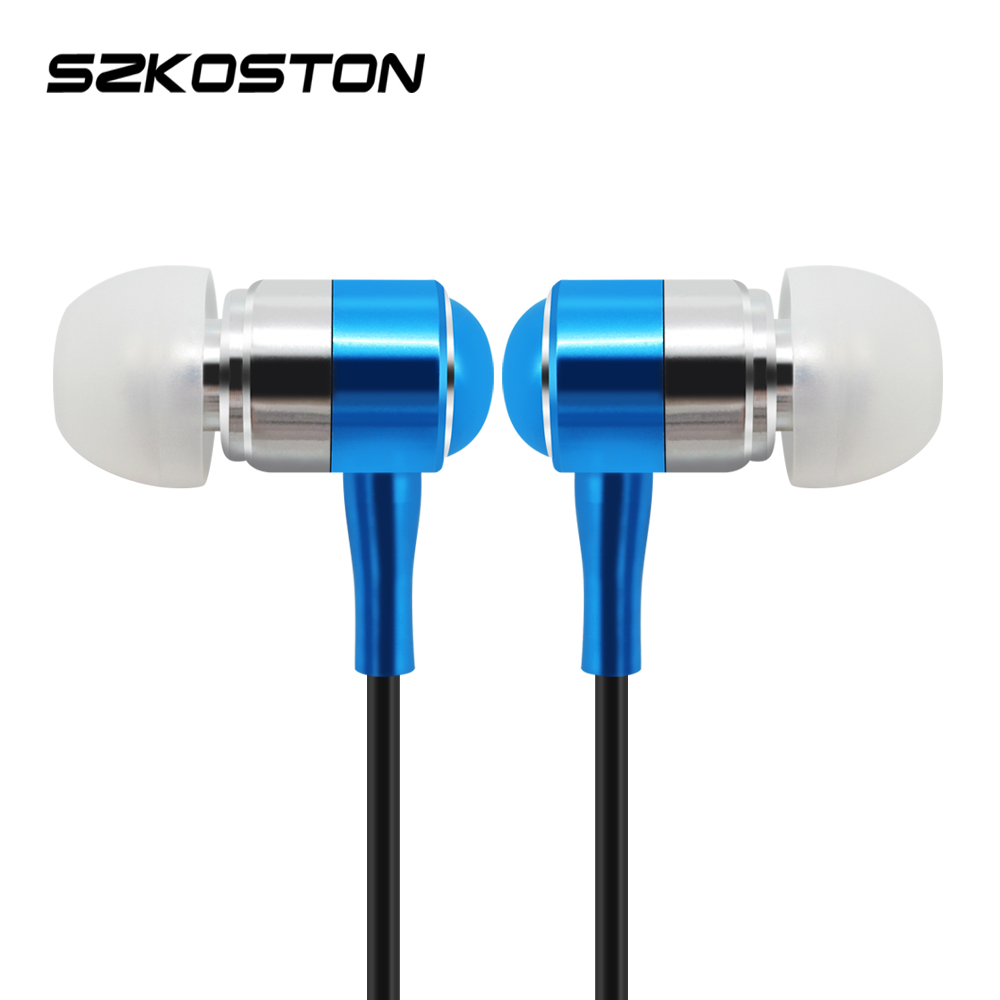 High Quality Wire Earphones KST-T1 Metal In Ear Stereo Earphone With Mic Noise Cancelling For Mobile Phone Xiaomi iphone Mp3 PC kst x7 metal earphone 3d stereo with mic
