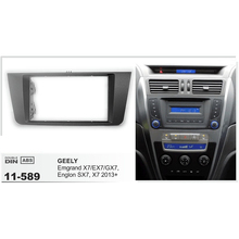 AF-11-589 Car CD Radio Fascia Frame Surround Panel for GEELY Emgrand X7 EX7 Englon SX7 X7 car radio fascia installation kit
