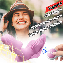 Meselo Wearable Vibrator Wireless Remote Control Vibrating Massager Rechargeable 10 Speed G-spot Adult Sex Toys for Woman