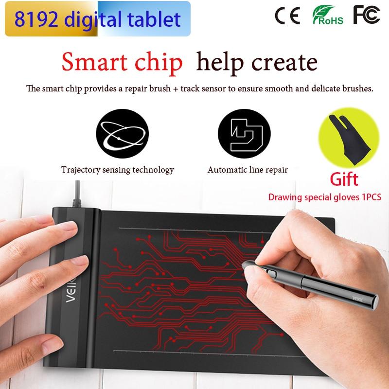 Tablette dessin tablette graphique tablette dessin pour OSU jeu avec stylet sans batterie-conçu avec cadeau