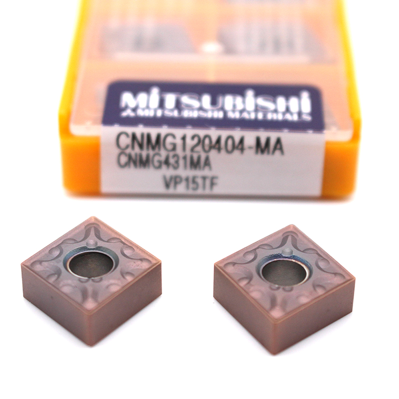 CNMG120404 MA VP15TF 10PCS carbide inserts Internal latter cutter turning tool for metal cnc machine cutting tools CNMG 120404