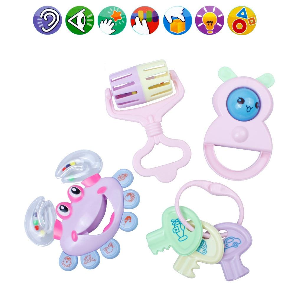 4 PCS Խառը Նվերների տուփ Մանկական - Խաղալիքներ նորածինների համար - Լուսանկար 1