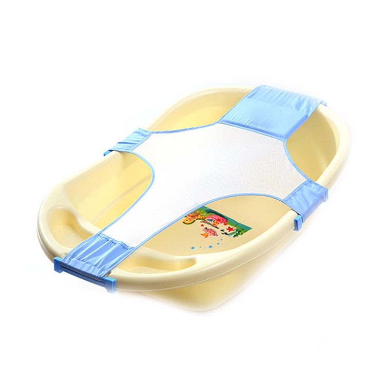Newborn Infant Baby Bath Tub Seat Adjustable Net Baby BathTub Bed Rings  Infant Cross Bath Bed Safety Support Baby Shower Bed In Baby Tubs From  Mother U0026 Kids ...