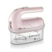 220 v Elektrische Hand Egg Beater Haushalt Tragbare Mini Ei Creme Brot Backen Mixer 5 Getriebe Control Rosa Weiß Farbe verfügbar-in Lebensmittel-Mixer aus Haushaltsgeräte bei