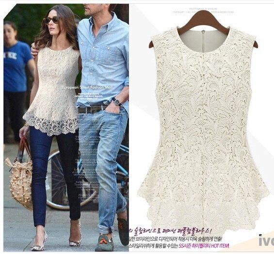 2013 hot European summer fashion women t-shirts black white brand lace t-shirt hollow out slim design for women's tops t shirt
