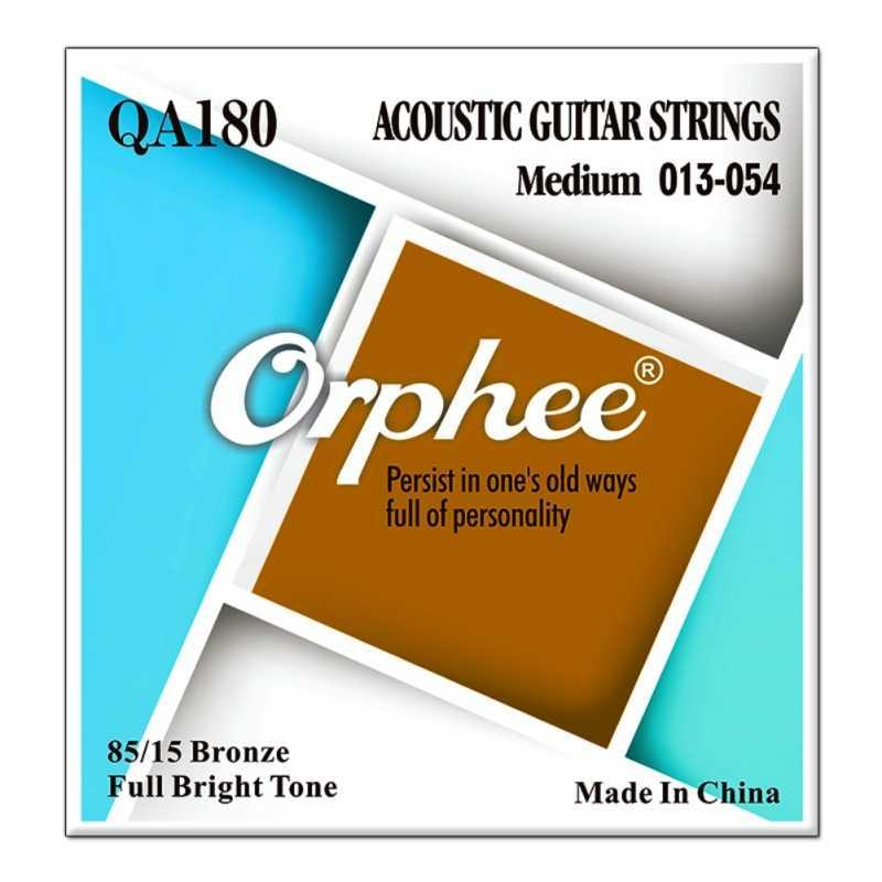 Orphee, elektryczna gitara basowa struny światła normalne sześciokątne Nano powlekane ze stopu niklu rdzeń elektryczny części basowe
