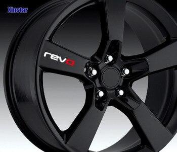 4pcs revo Car wheel sticker for revo volkswagen golf 7 passat B5 B6 B7 Golf MK4 MK6 MK7 CC R20 R32 R36 revo band page 7