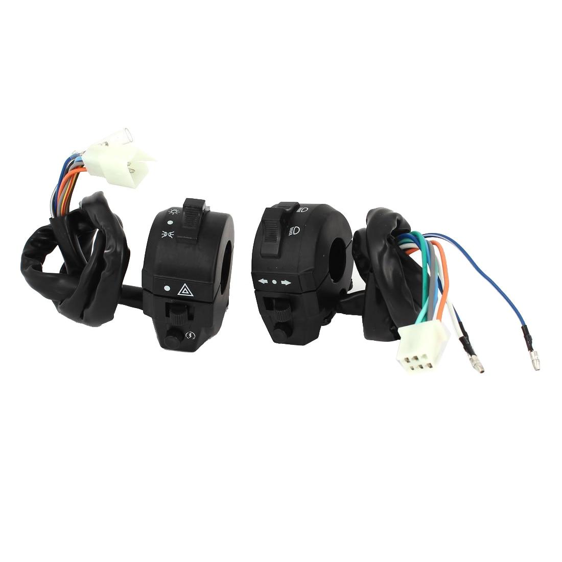 купить Promotion! Motorcycle ATV Handlebar Horn Turn Signal Headlight Electrical Switch недорого