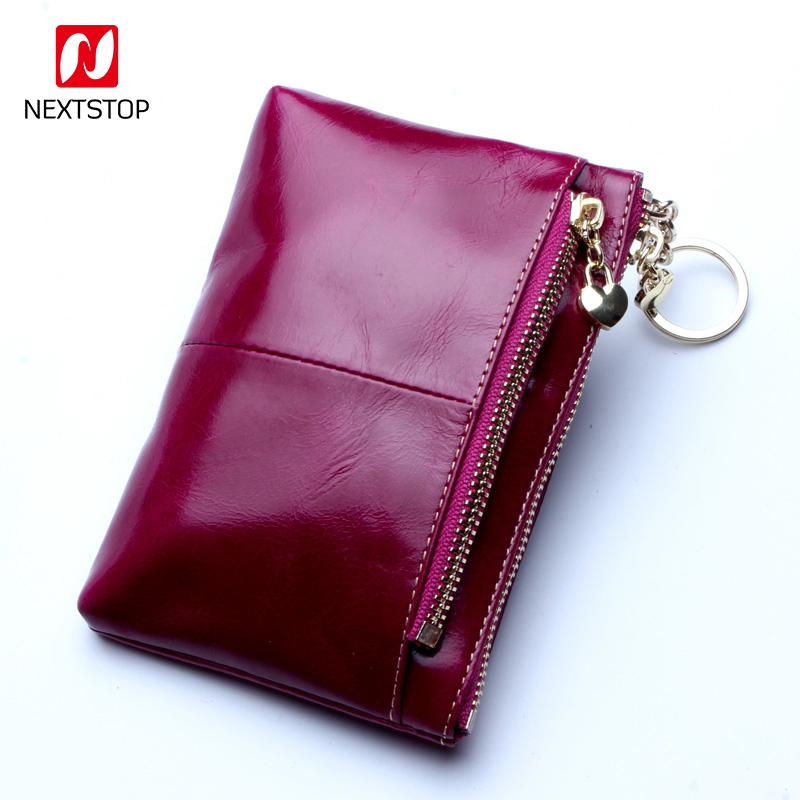 Women Wallets Real Leather Fashion Brands Luxury Designer Coin Purse Minimalist Slim Cute Girl Small Clutch Wallet and purses