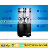2 Head 30L Double Tank Frozen Drink Commercial Slush Machine