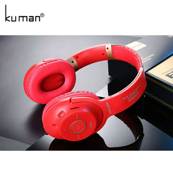 Kuman Sports Headsets Stereo Wireless Headphones HIFI Bluetooth Earphone with 3.5mm Conversion Line For Phone PC Gaming YL-HH9