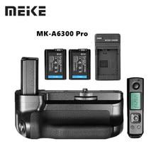 Đế Pin Meike MK A6300 PRO Pin Cầm Tay Phù Hợp Với Builtin 2.4G Không Dây Điều Khiển Từ Xa Dành Cho Sony A6000 A6300 Làm Việc Với NP FW50 pin