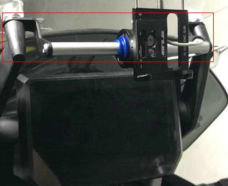 Mobile Phone Navigation Bracket USB Phone Charging For KTM 1290 SUPER ADVENTURE S R 2017-2018
