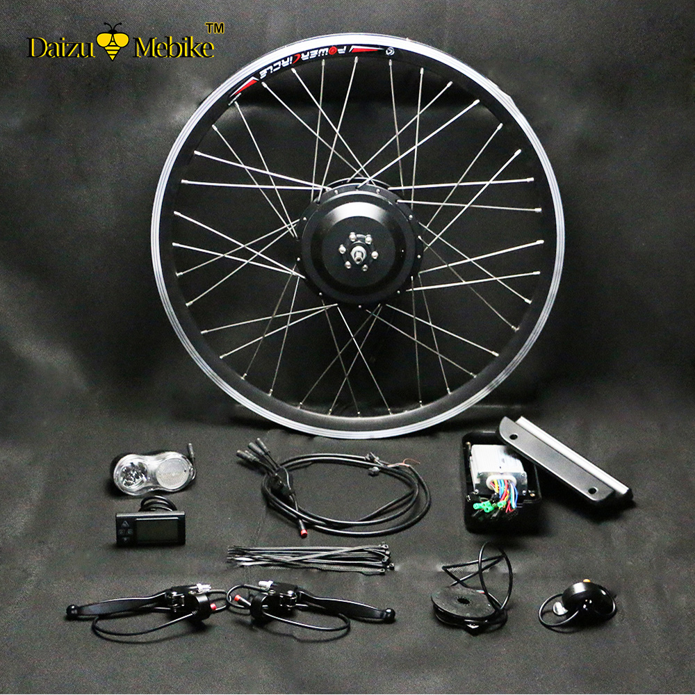 Top DIY 2018 New Brushless Electric Bicycle Kits NO Battery 36V 250W 350W 500W Motor Controller Electric Etc Bicycle Conversion Kit 2